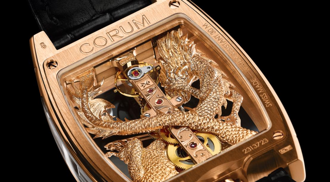 Corum Golden Bridge Dragon