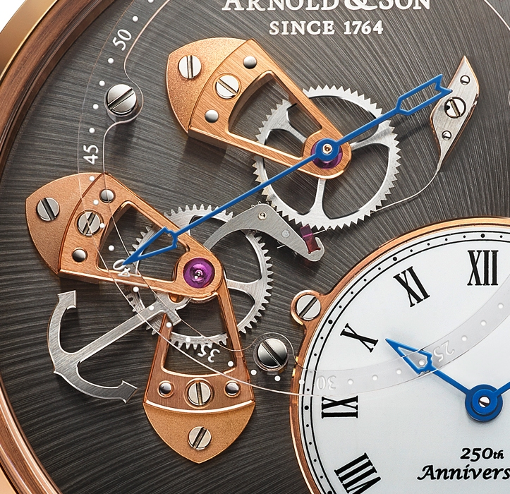 Another view of the seconds dial