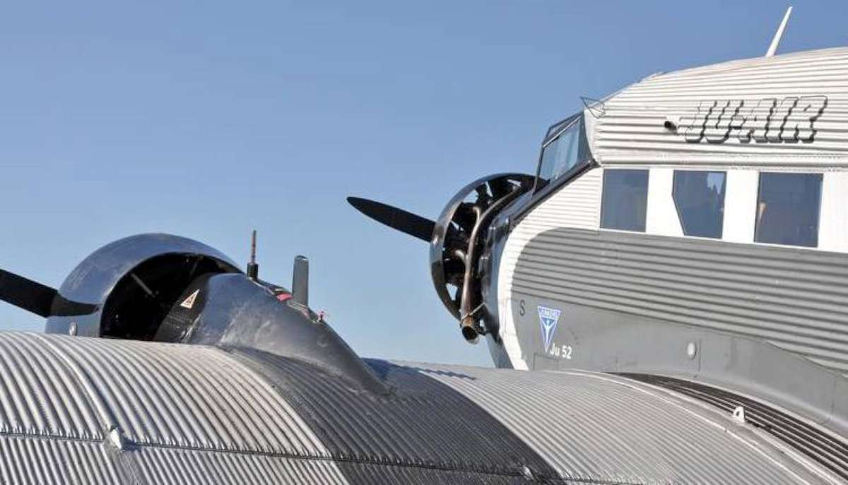 The IWC Ju-52, run by the airline JU-Air. Photo courtesy airforcecenter.ch