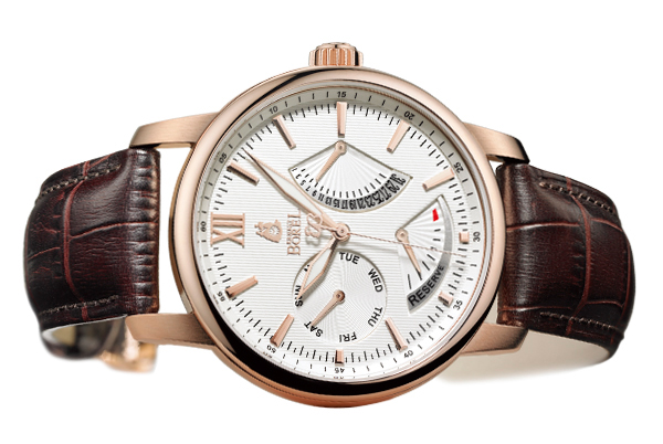 Another watch using the same movement: Jules Borel, a watch by Ernest Borel