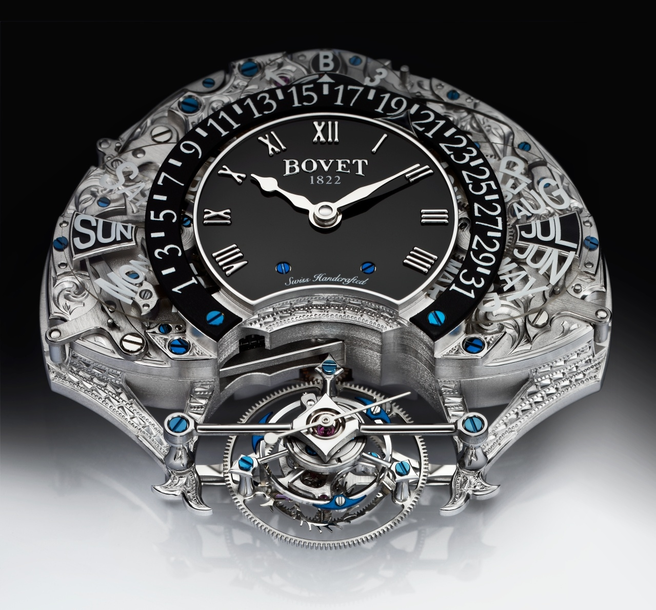 Movement of Bovet's Amadeo Fleurier Virtuoso III