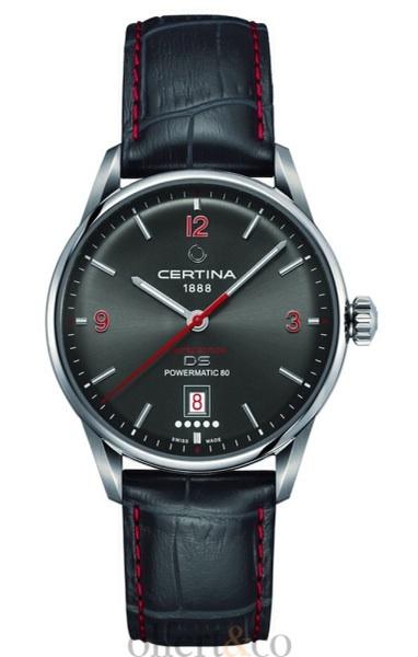 A watch by Certina