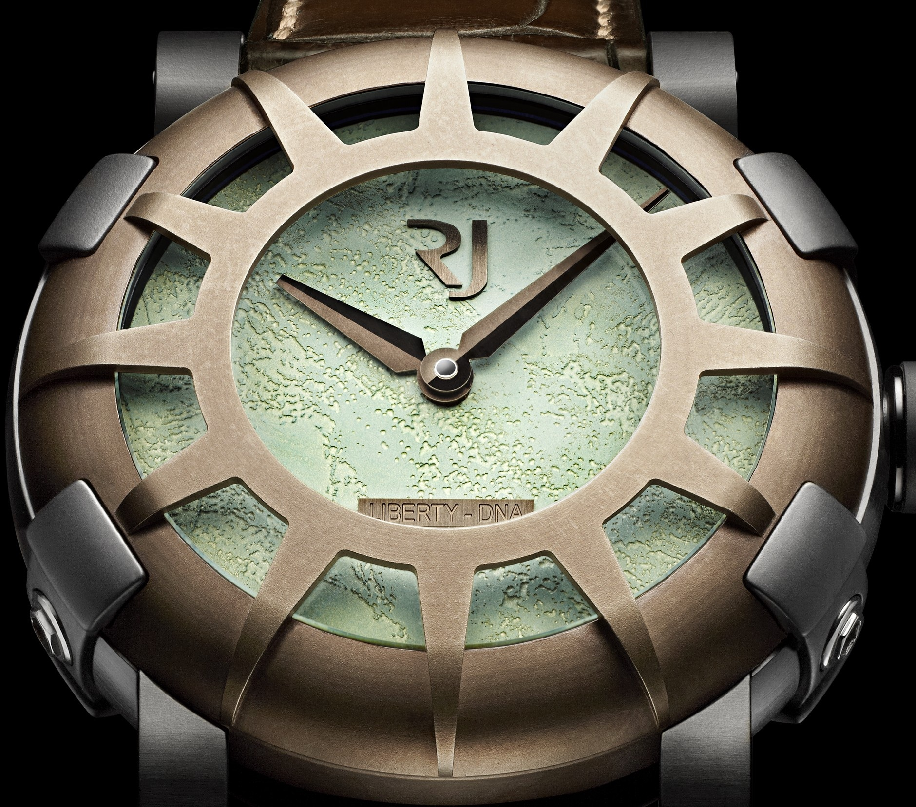 Detail of the 2012 RJ-Romain Jerome Liberty-DNA