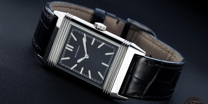 The Grande Reverso Ultra Thin Tribute to 1931 (2011, US$ 8,400) by Jaeger-LeCoultre