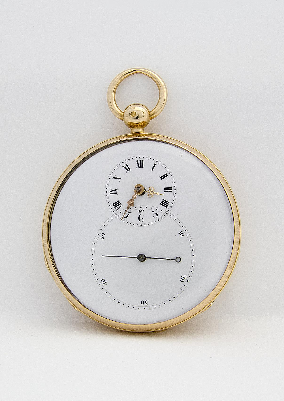 The 1784 pocket watch by Pierre Jaquet-Droz