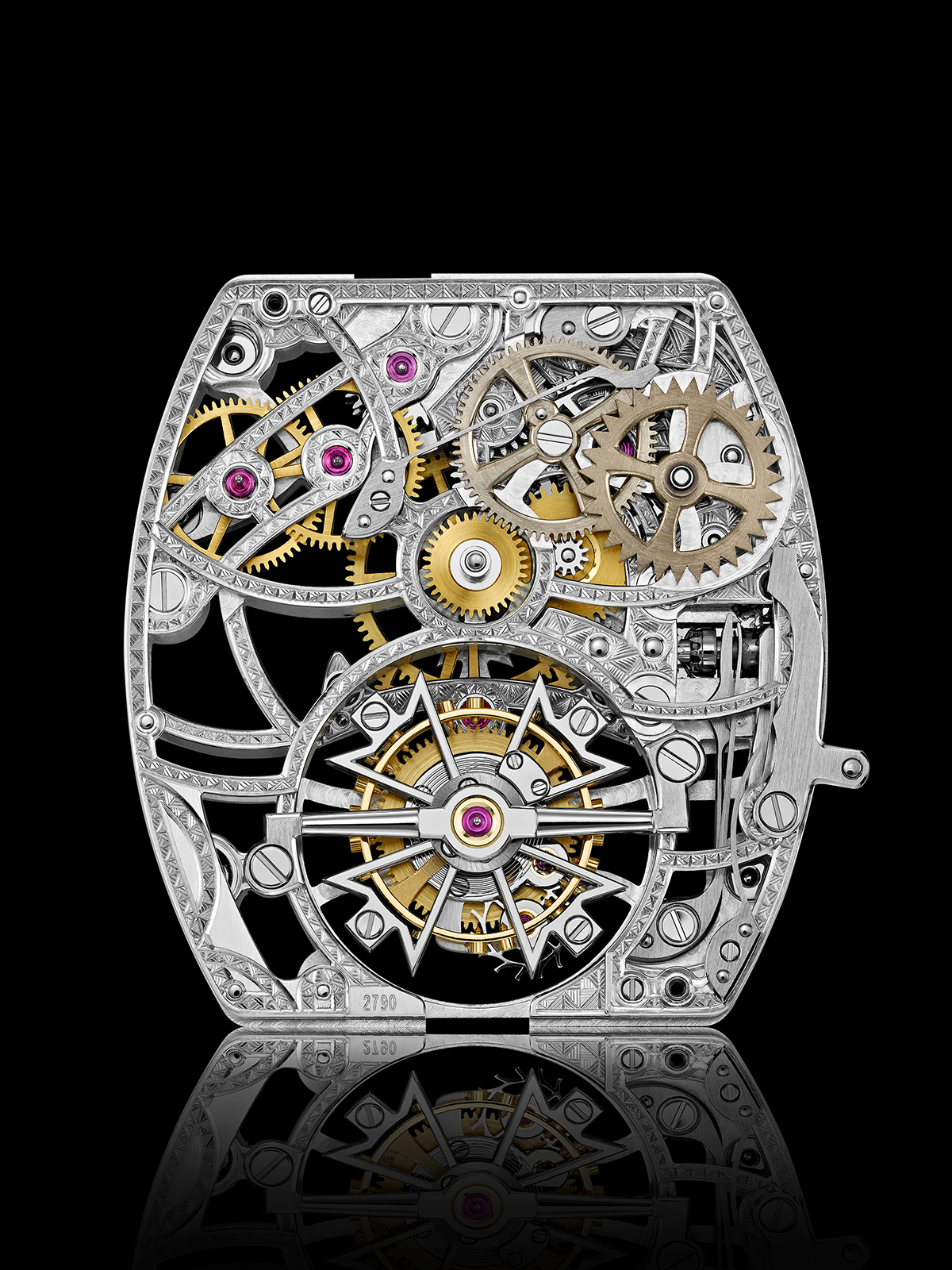 The Calibre 2790 SQ movement