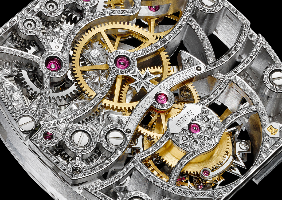 Calibre 2790 SQ movement, detail