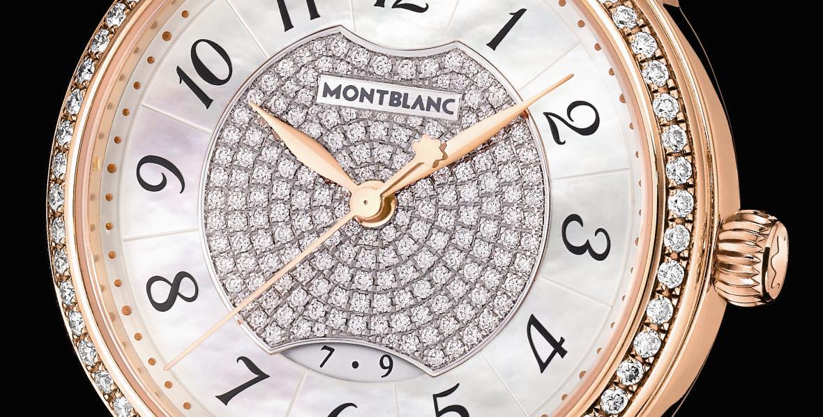 Montblanc Bohème Date Automatic Jewellery, detail