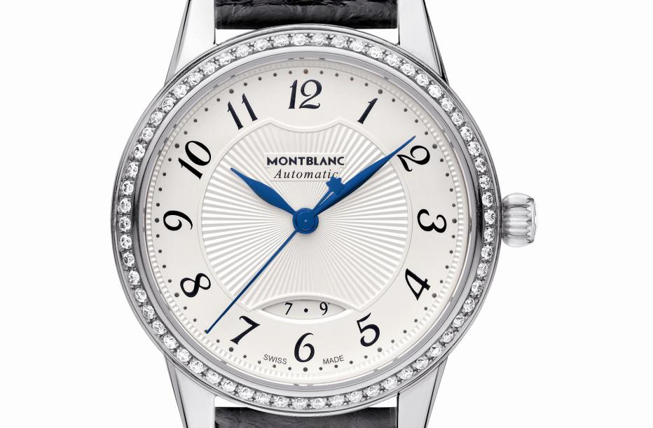 Montblanc Bohème Date Automatic in steel