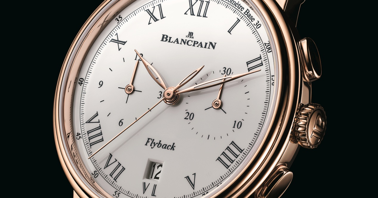 The Chronographe Pulsomètre by Blancpain