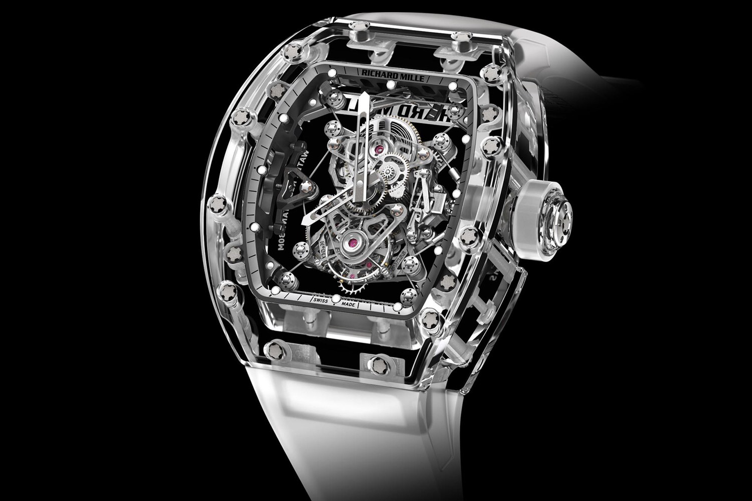 The Tourbillon RM56-02 Sapphire by Richard Mille