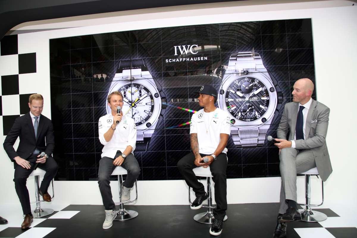 Nico Rosberg, Lewis Hamilton, Christian Knoop