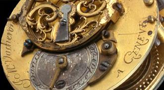 An early pocket watch by Jean-Marc Vacheron, 18th century