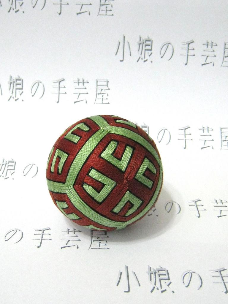 Example of the Japanese art of Temari, photo courtesy of Komusume Rita/flickr.com
