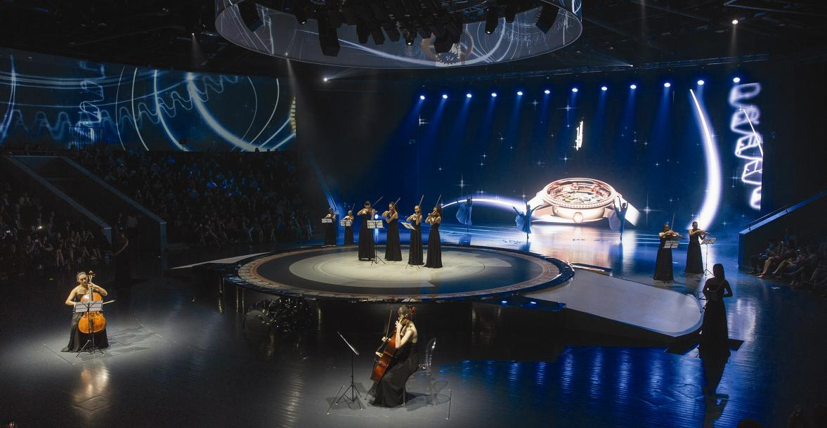 The show in Shanghai