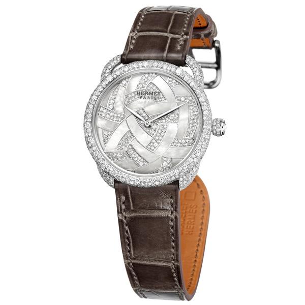 The Hermès Arceau Temari, version in mother-of-pearl