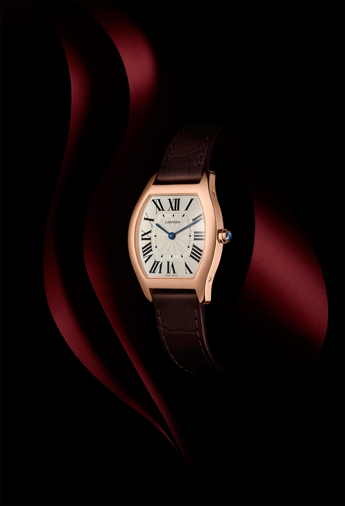 Tortue by Cartier, medium, pink gold