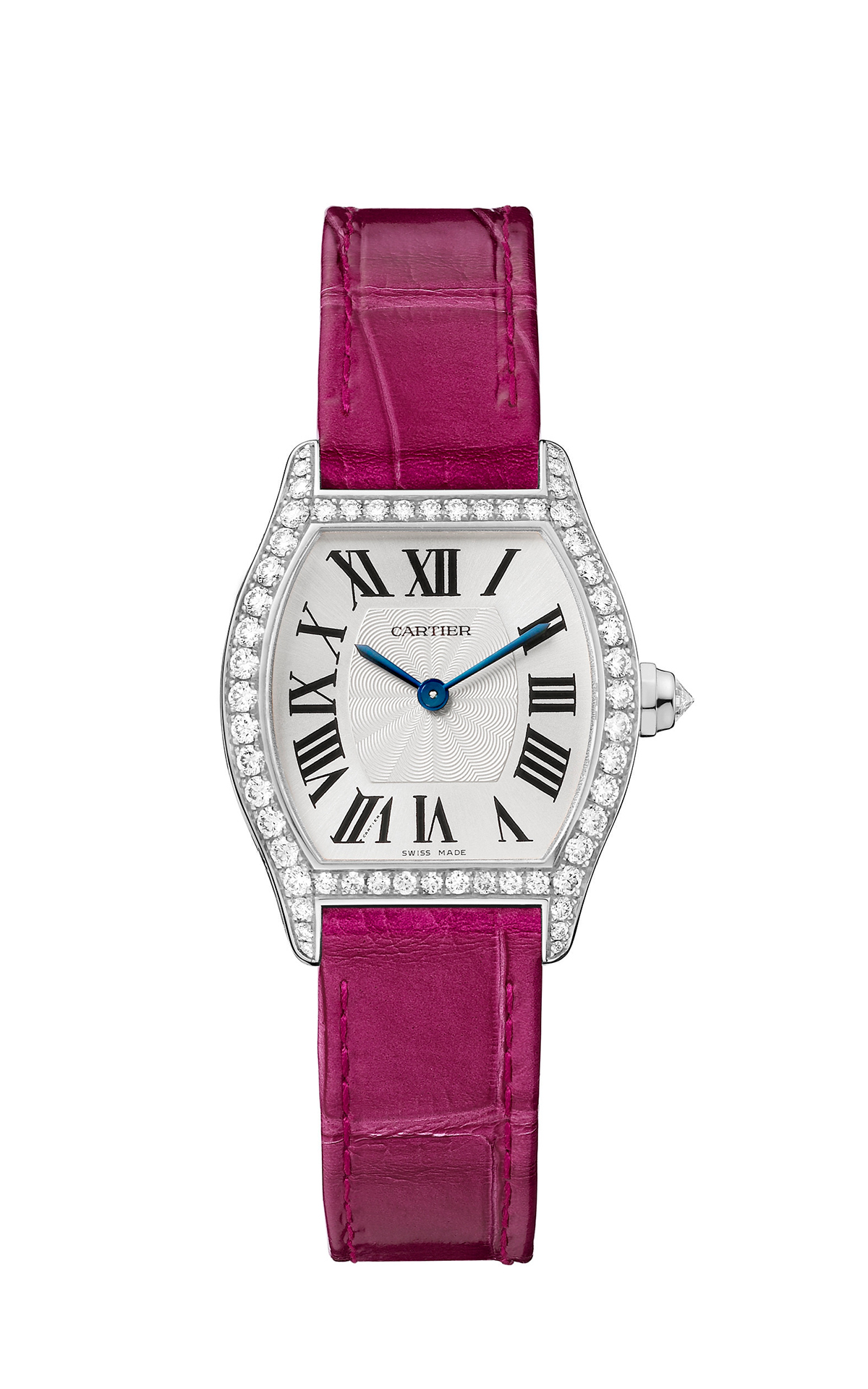 Tortue by Cartier, small, white gold and diamonds