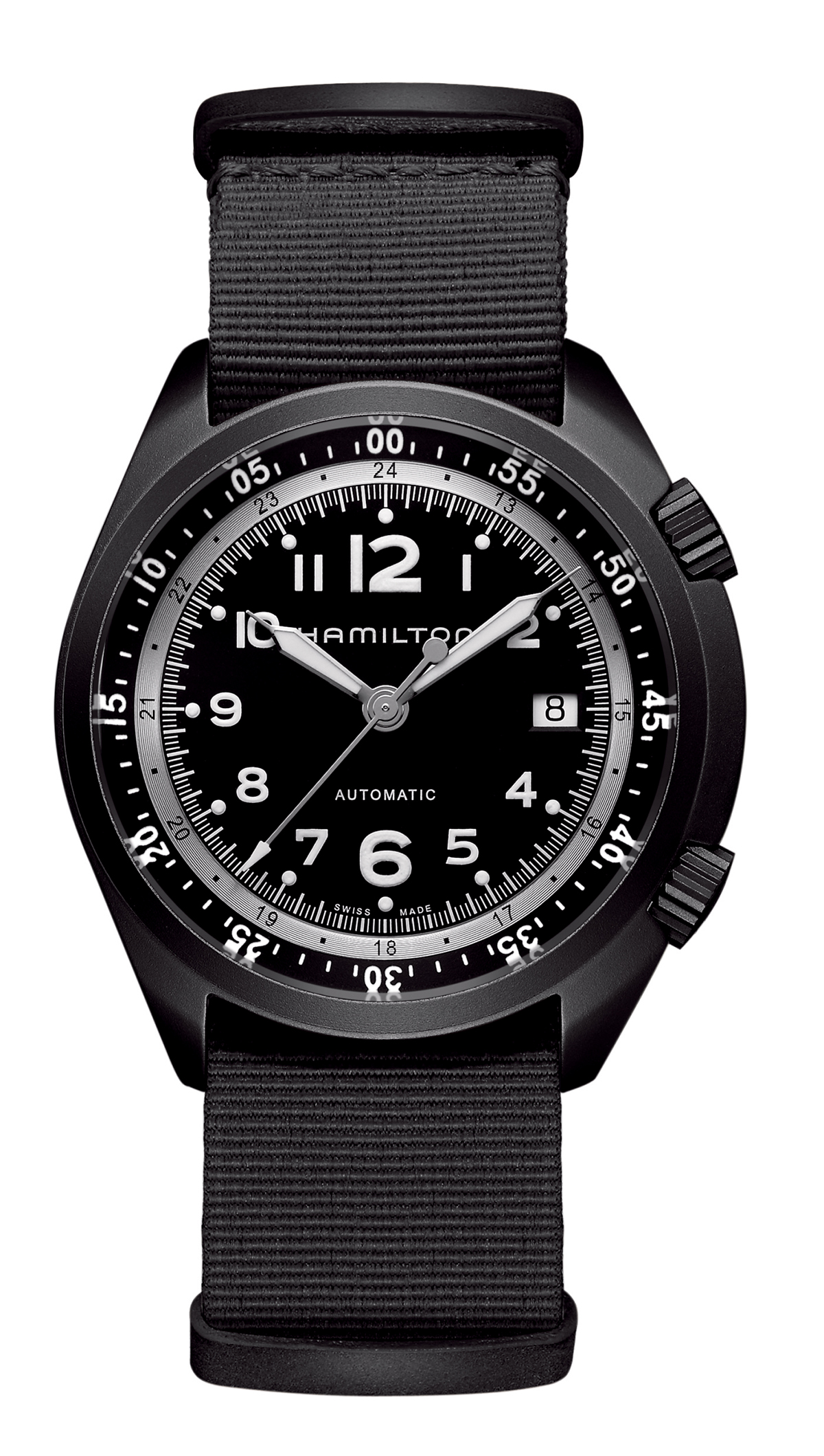 Khaki Pilot Pioneer Aluminum, black version