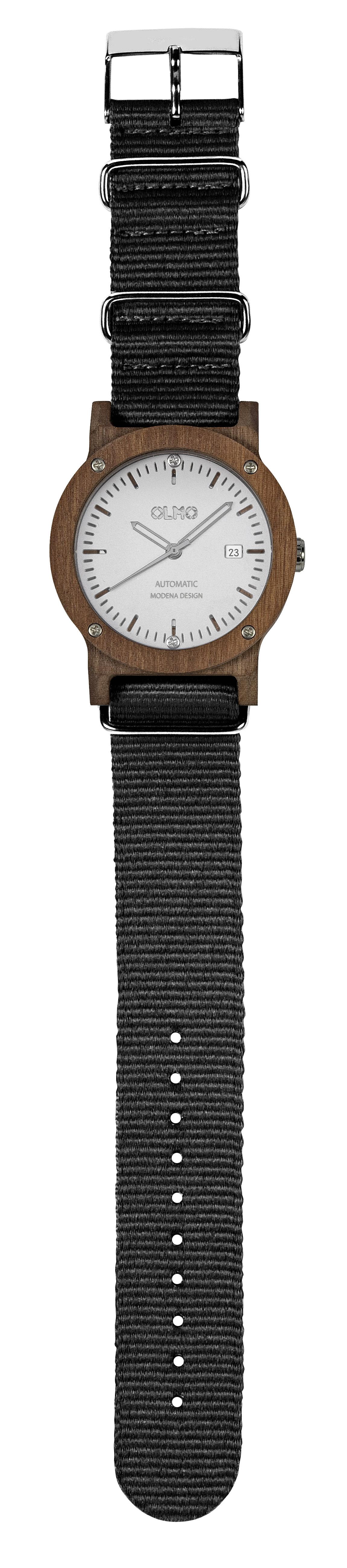 OLMO watch in mahogany