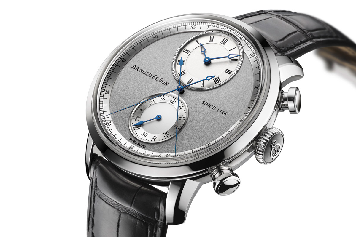 Do chronograph watches have to look like gas meters? Time