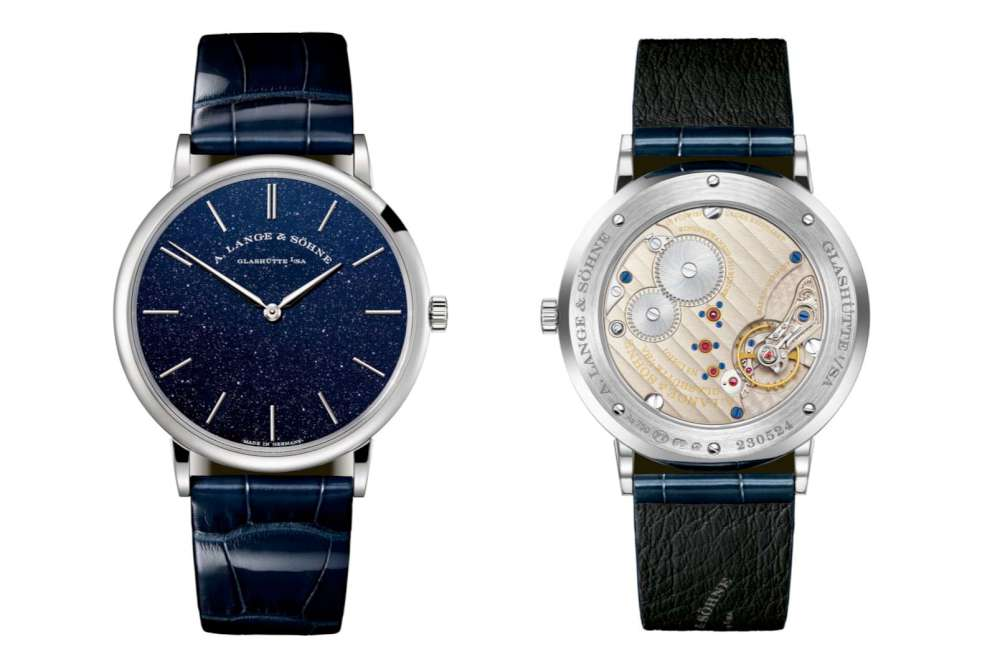 A. Lange & Sohne Saxonia Thin dress watch