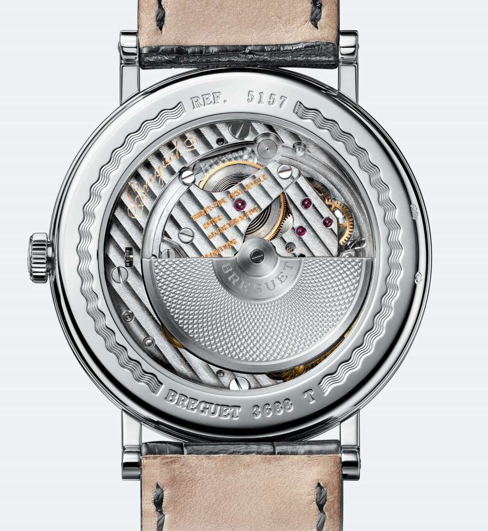 Breguet Classique 5157 dress watch back