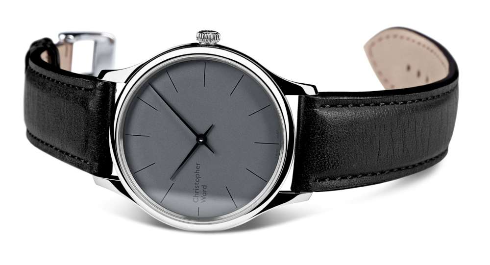 Christopher Ward C5 Malvern 595 dress watch front