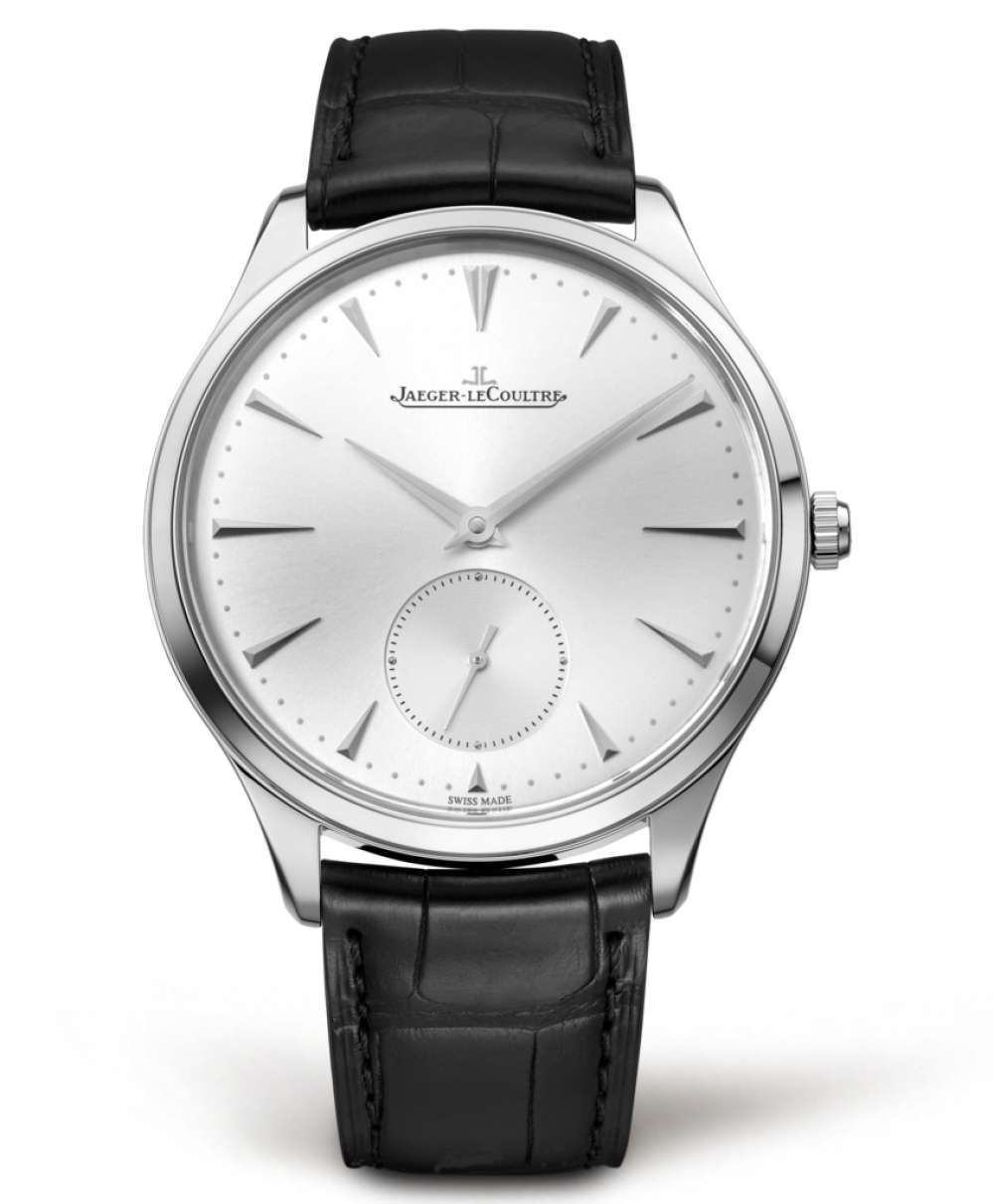 Jaeger-LeCoultre Master Ultra Thin Small Second 1053261 dress watch front