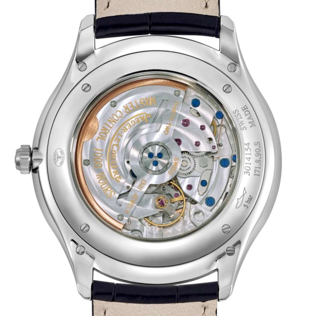 Jaeger-LeCoultre Master Ultra Thin dress watch 1278420 caseback