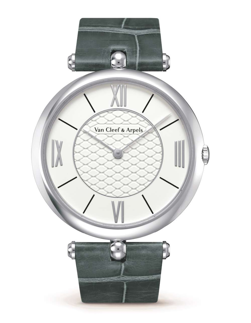 Van Cleef Arpels Pierre Arpels 1627197 white gold dress watch