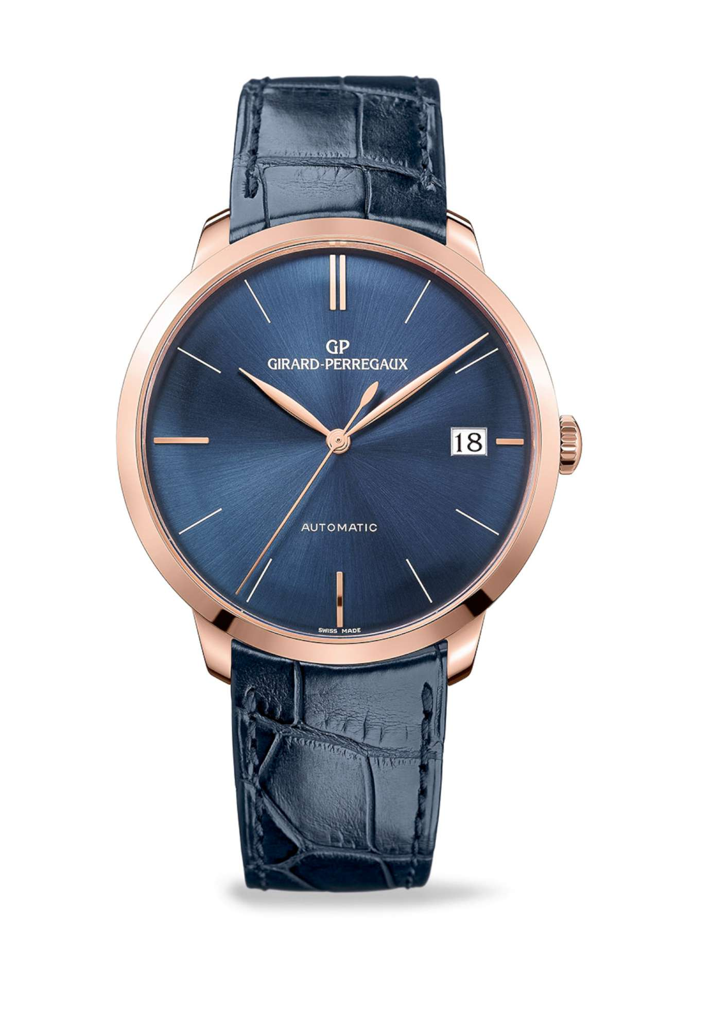 Blue Hour Girard-Perregaux 1966 41mm, version in pink gold