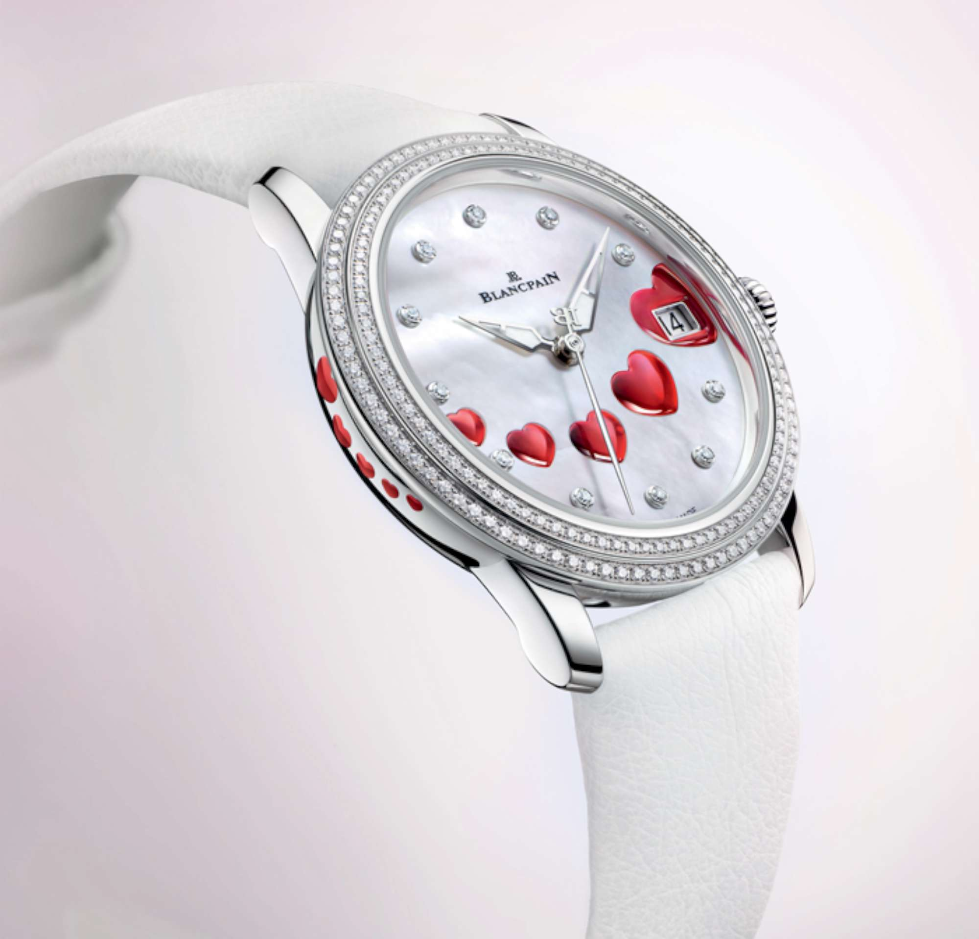blancpain's rose watch for valentine's day 2015 - time transformed, Ideas