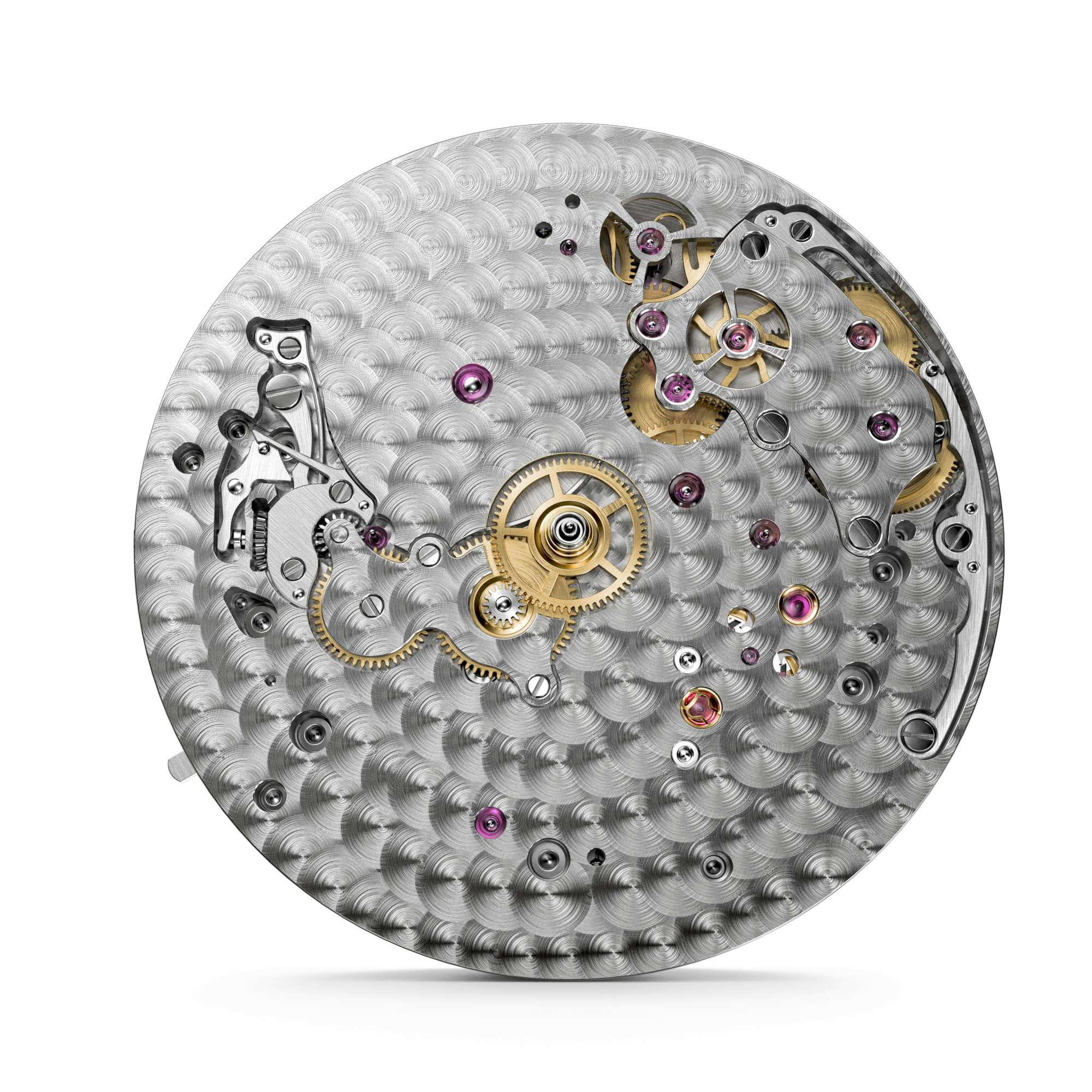 This last image shows another characteristic of all watches by Vacheron Constantin: decoration and finish extend to parts that are not visible, such as the dial side of the movement shown here.