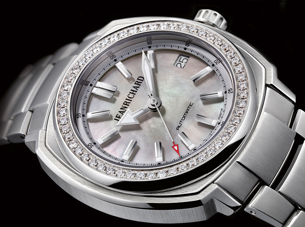 Jeanrichard Terrascope 39 mm, reference 60510D11A701-11A, €4,700