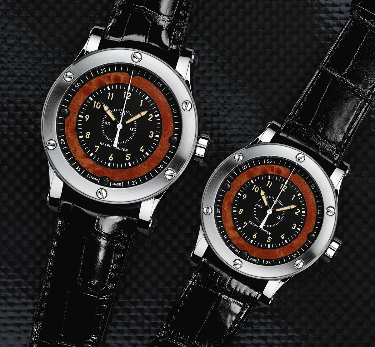 The two Ralph Lauren Automotive Chronometers