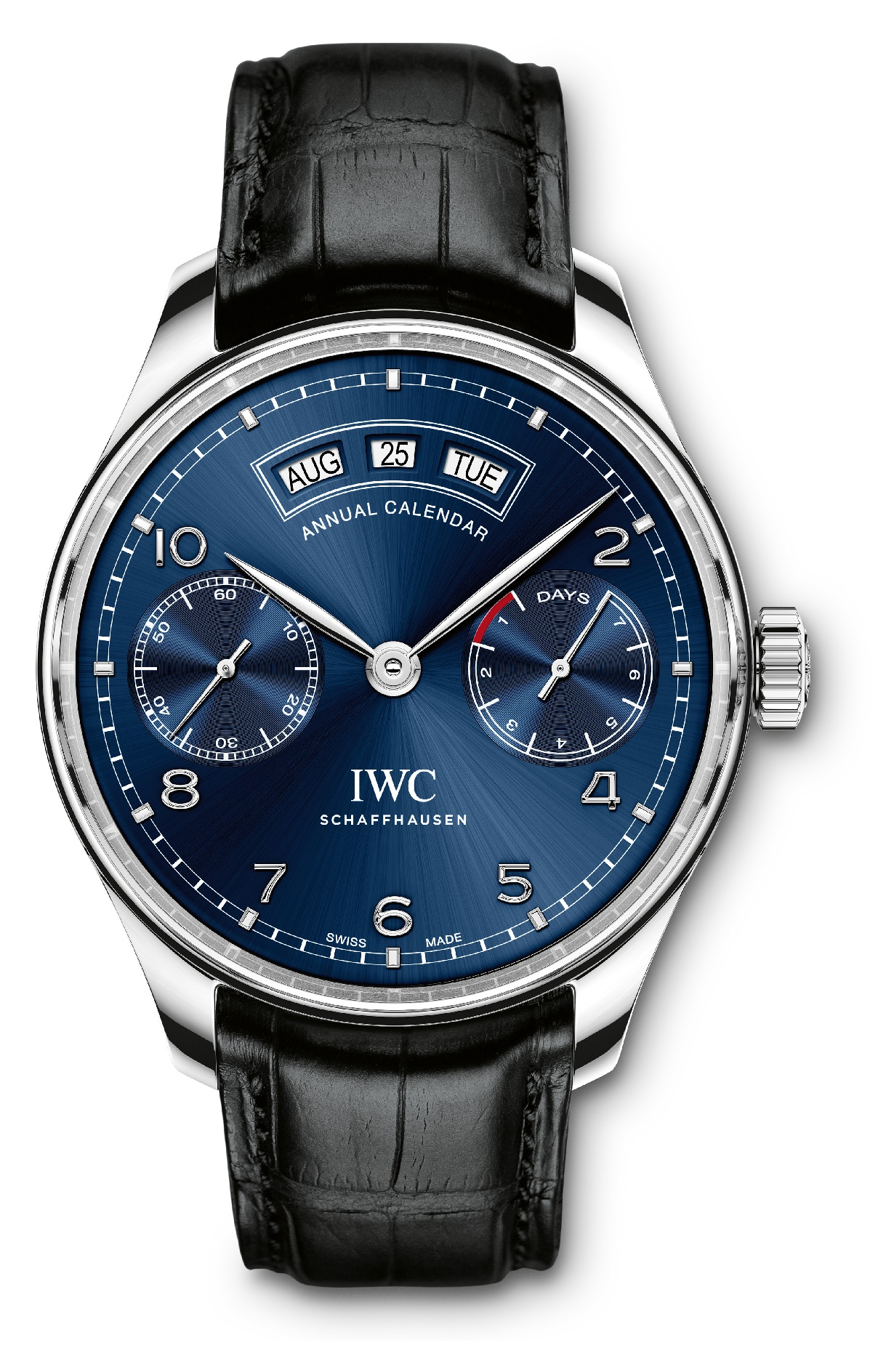 The new IWC Portugieser Annual Calendar