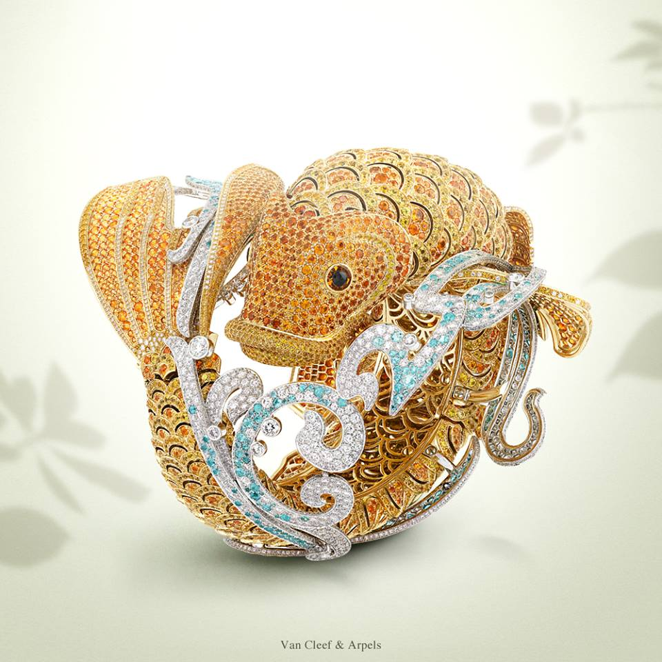 The Carp Koï bracelet watch by Van Cleef & Arpels