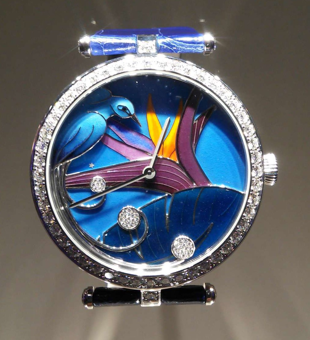 Lady Arpels Jour Nuit Oiseau de Paradis, part of the Poetic Complications series