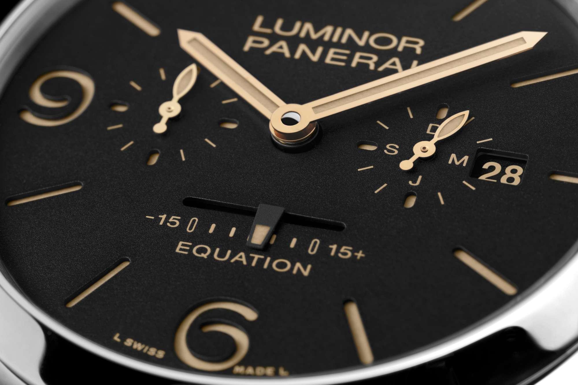 Luminor 1950 Equation of Time 8 Days