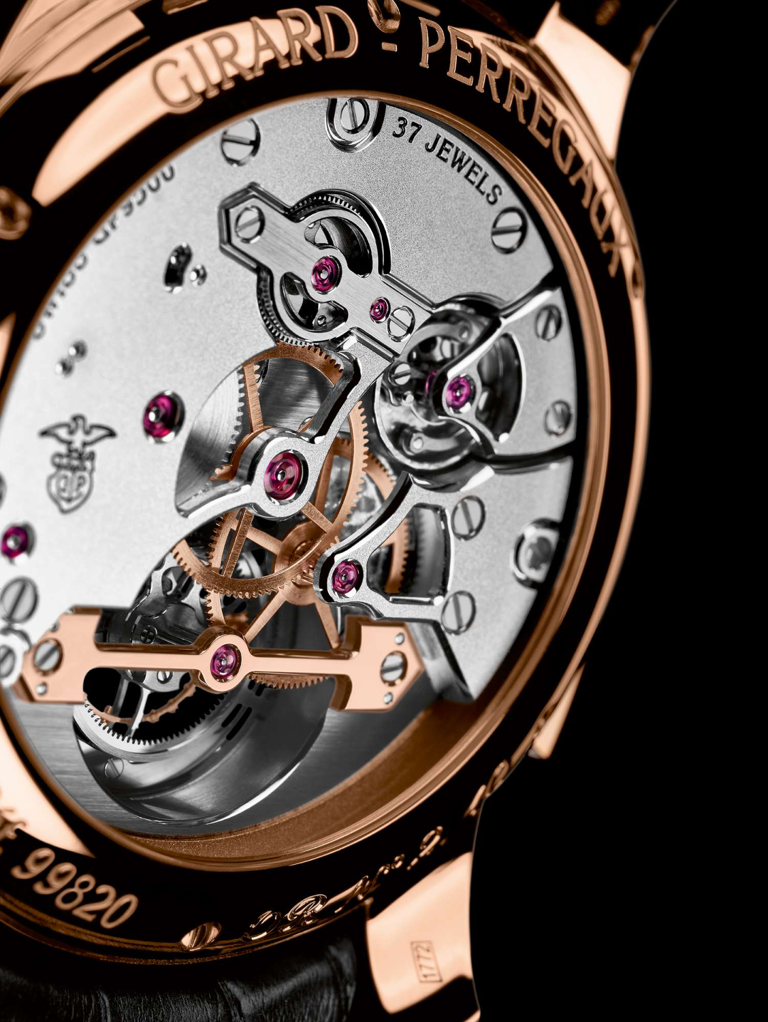 GP_LD_Tourbillon Minute Repeater with Gold Bridges_CLUP-2000