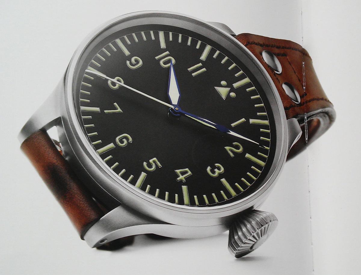 IWC Big Pilot's Watch Heritage IW501004 and IW501005 Time