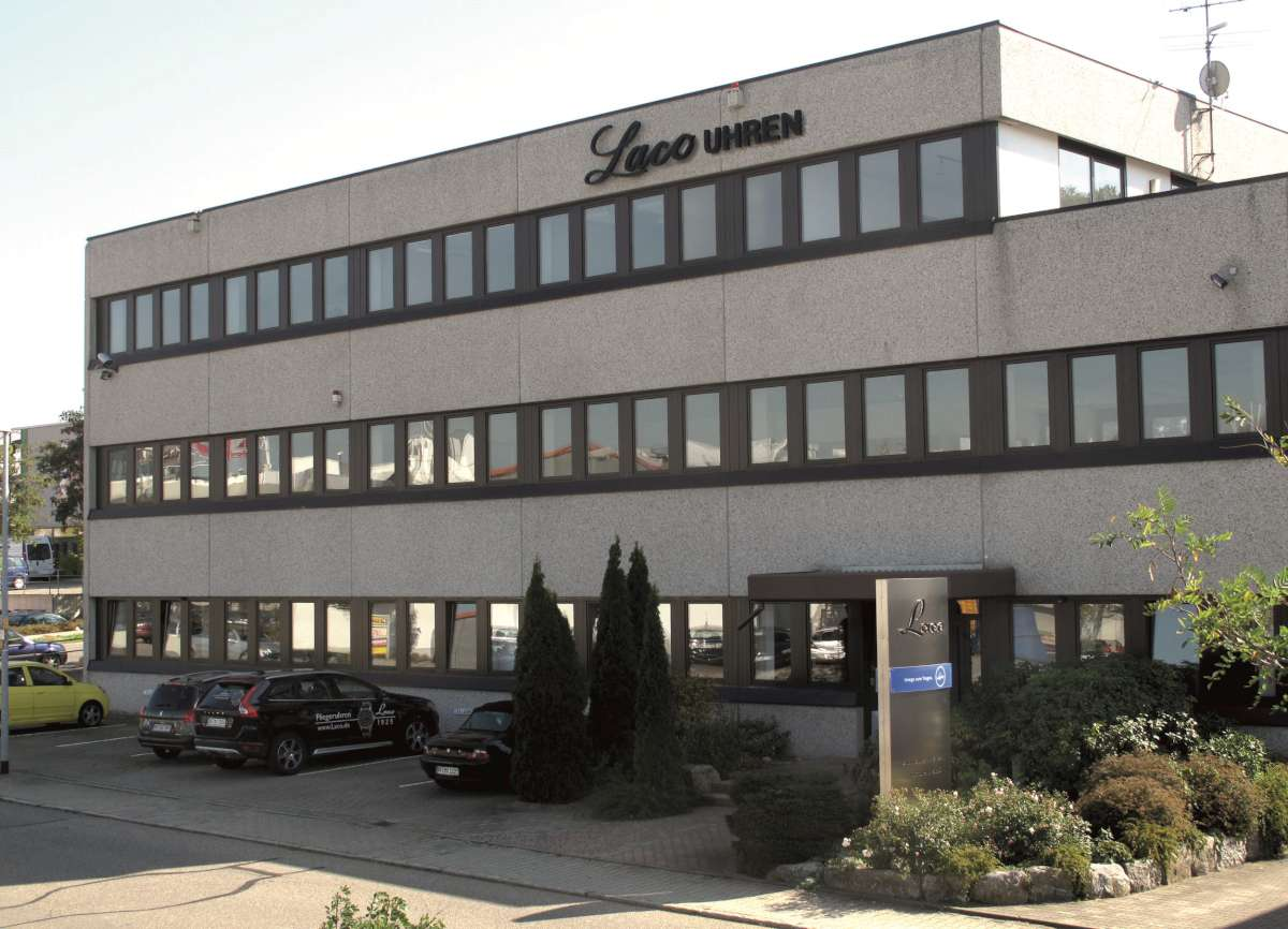 The Laco company headquarters in Pforzheim