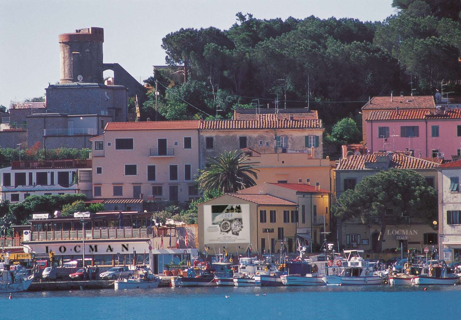 The Locman head office and manufacture at Marina di Campo, Isle of Elba