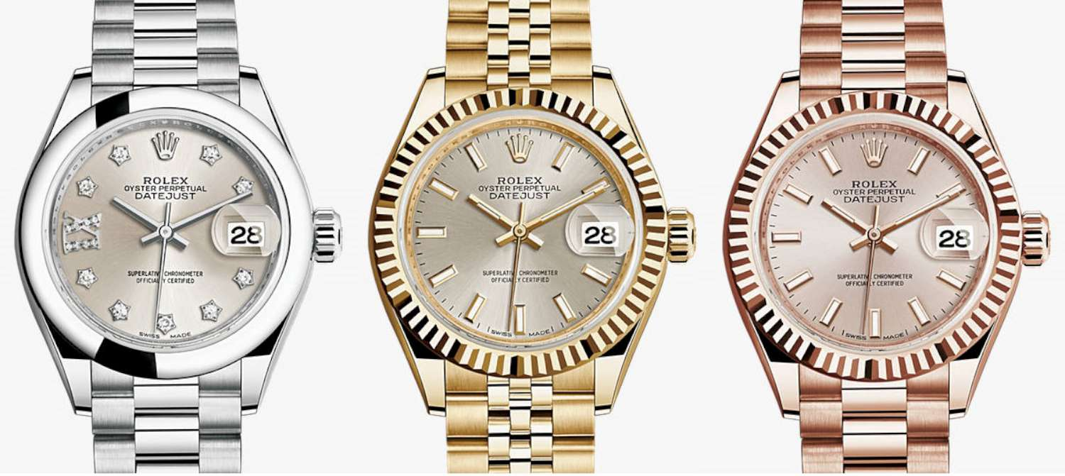 Rolex Lady Datejust 28 Time Transformed