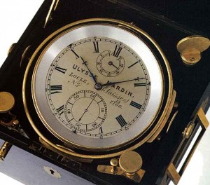 19th-century marine chronometer by Ulysse Nardin