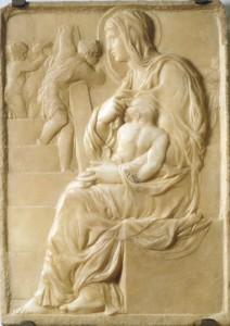 """Buonarotti-scala"" by Michelangelo - www.akg-images.co.uk/.../ rabattidomingie.html. Licensed under Public Domain via Commons"
