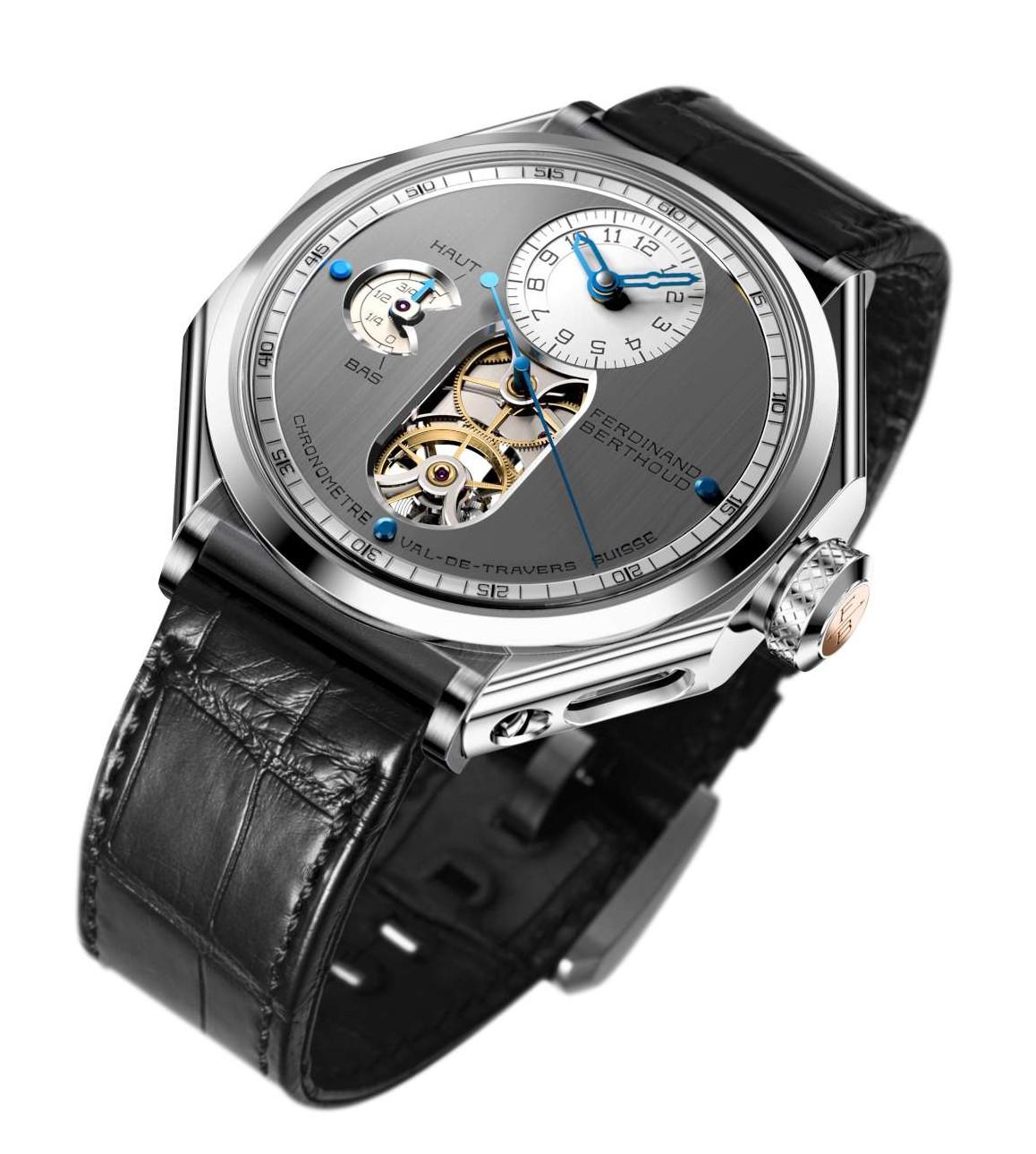 Chronomätre FERDINAND BERTHOUD FB 1 - 2 - White - FB 1.1-1500