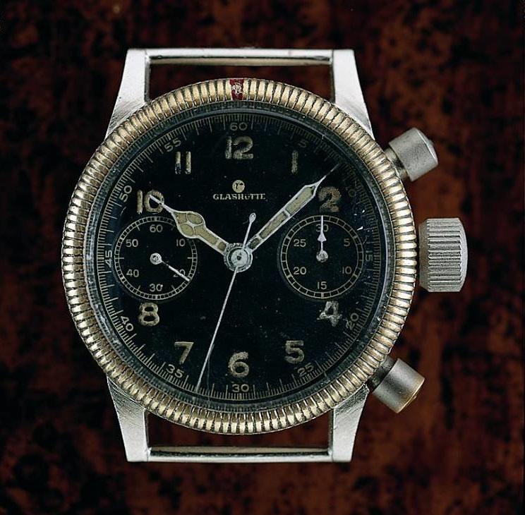 Original Tutima Fliegerchronograph late30_early40