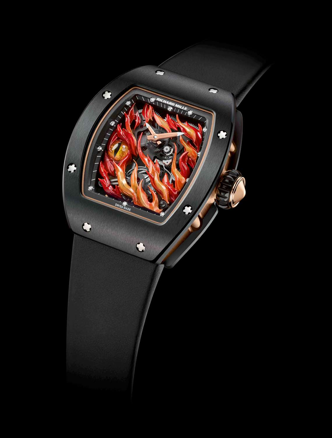 Watch On Fire The Richard Mille Evil Eye Rm 26 02 Tourbillon Time